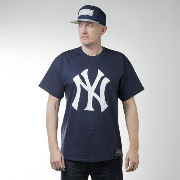 Majestic Athletic Prism Large Logo Tee New York Yankees navy (MNY1450NL)