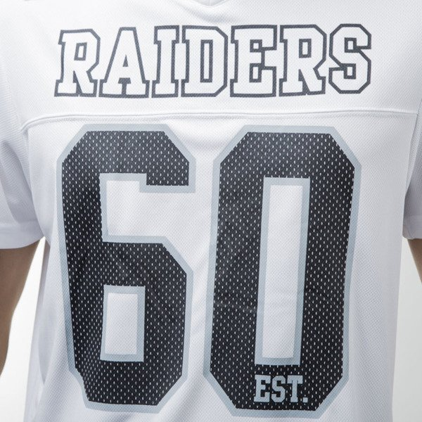 Majestic Athletic Puerco Poly Players Jersey Oakland Raiders white MOR2375WB