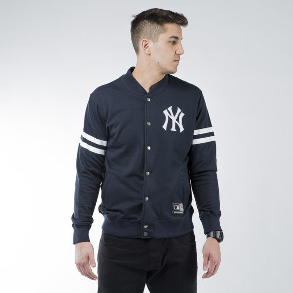 Majestic Athletic Roper Fleece Letterman Jacket New York Yankees navy (MNY1428NL)
