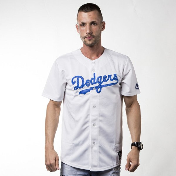 Majestic Athletic T-shirt Jersey MLB Dodgers Replica white (MC7DODHWA00)