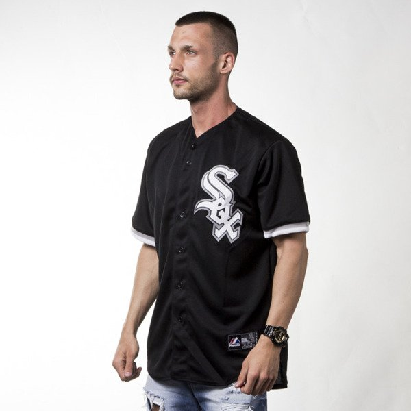 Majestic Majestic Athletic T-shirt Jersey MLB Sox Replica black (M67WSXADA00)