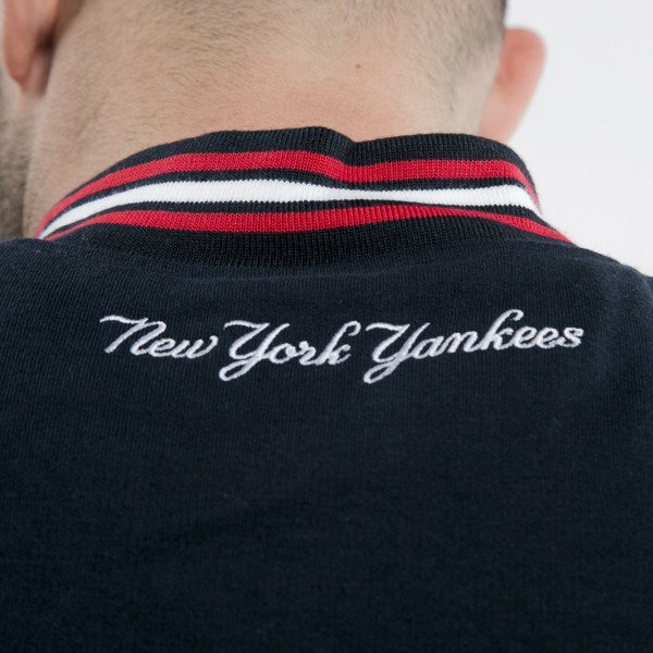Majestic jacket New York Yankees navy/white reggie Letterman