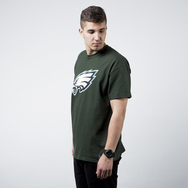 Majestic t-shirt Athletic Prism Large Logo Philadelphia Eagles green (MPE1450GK)