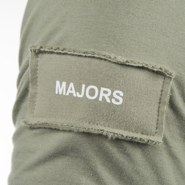 Majors Label Tee olive