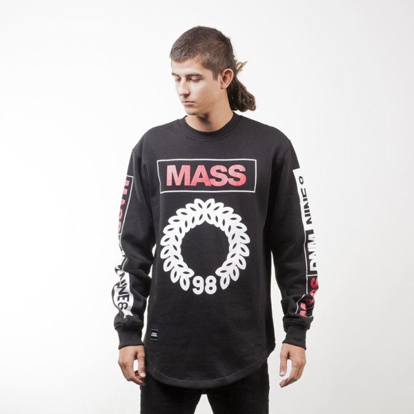 Mass Denim BLAKK sweatshirt Conversion Long crewneck black