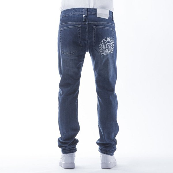 Mass Denim Jeans Pocket Base tapered fit blue