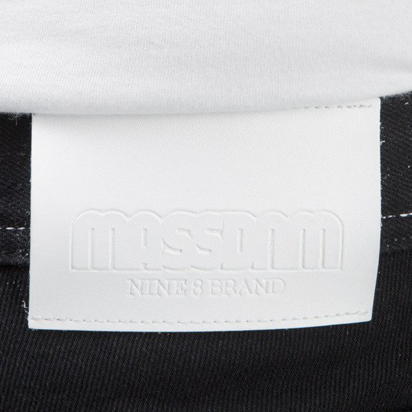 Mass Denim Jeans Ring tapered fit rinse black