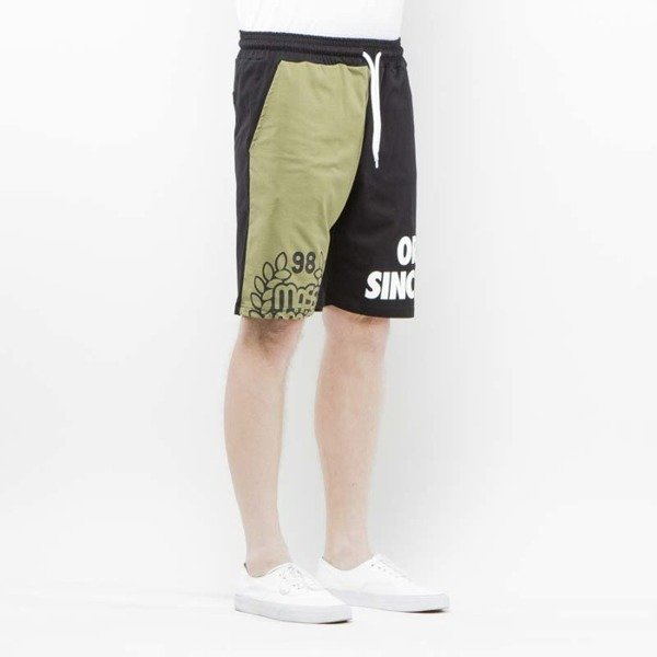Mass Denim Sweatshorts Baller khaki / black  SS 2017