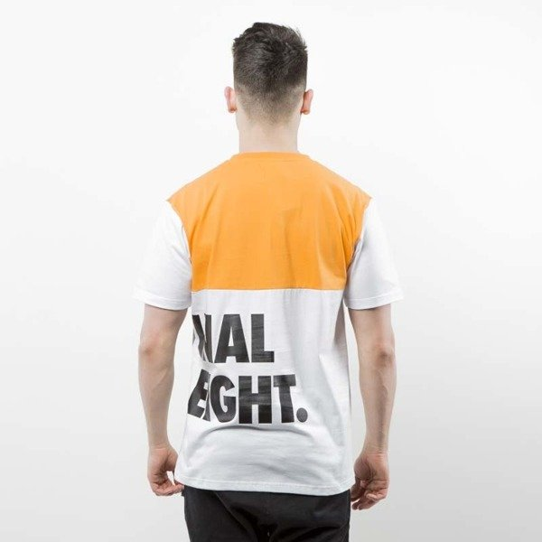 Mass Denim T-shirt Baller orange / white SS 2017