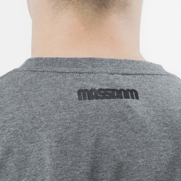 Mass Denim T-shirt Classics Cut black / dark heather grey SS 2017