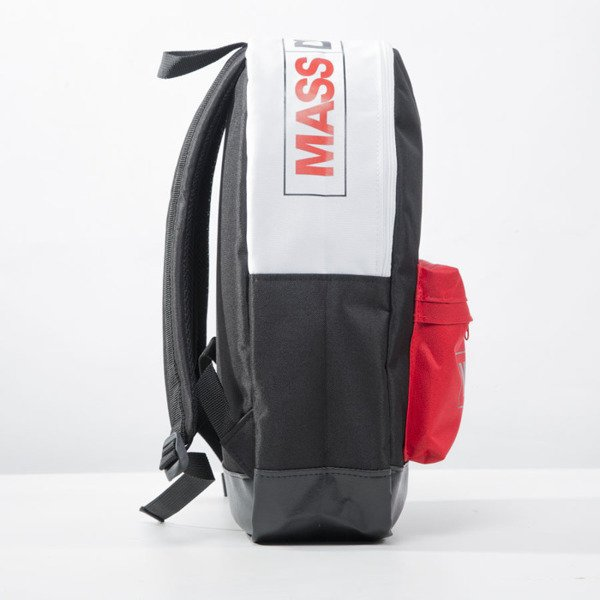 Mass Denim backpack Conversion black / white / red BLAKK