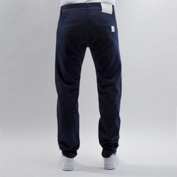 Mass Denim chino Base straight fit navy
