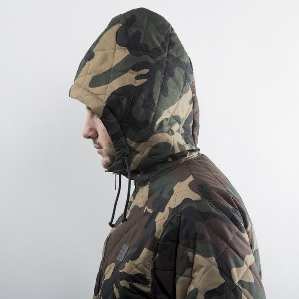 Mass Denim jacket Base Quilted woodland camo
