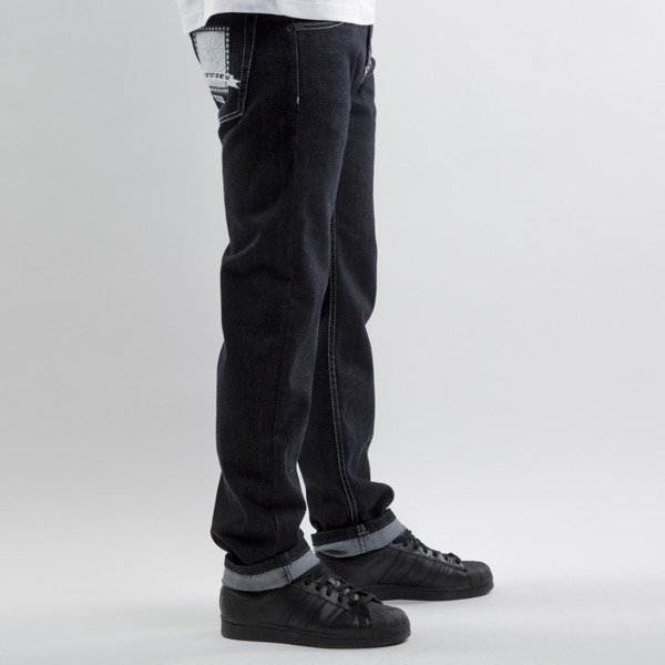 Mass Denim jeans Capitol straight fit rinse black