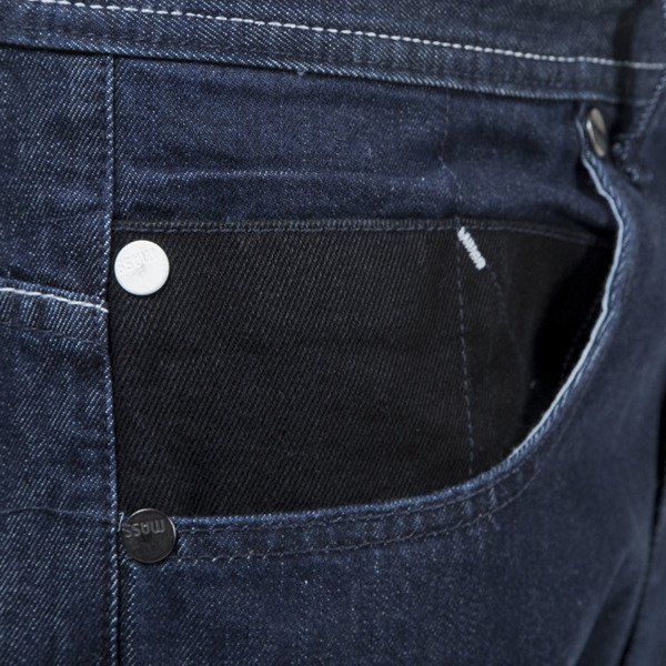 Mass Denim jeans pants Pocket Cover baggy fit rinse