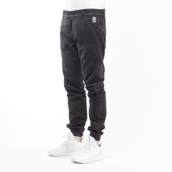 Mass Denim jogger pants chino Classics Corduroy sneaker fit black