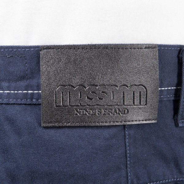 Mass Denim jogger pants chino Classics sneaker fit navy