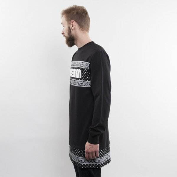 Mass Denim longsleeve Compton long fit black