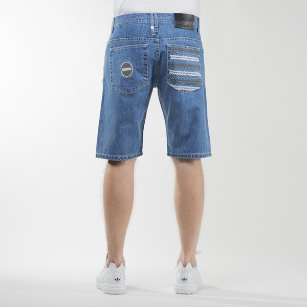 Mass Denim shorts jeans Glory straight fit blue