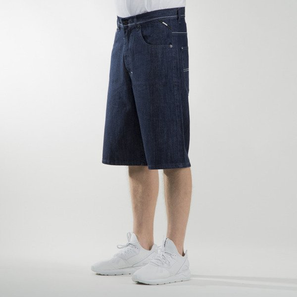 Mass Denim shorts jeans Outsized baggy fit rinse