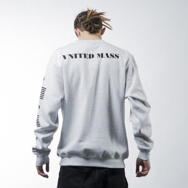 Mass Denim sweatshirt Empire crewneck white BLAKK