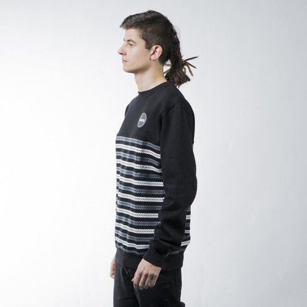 Mass Denim sweatshirt Glory crewneck black