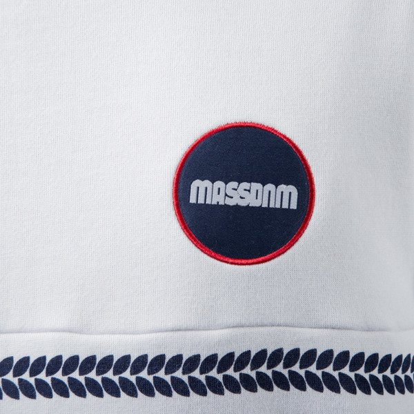 Mass Denim sweatshirt Glory crewneck white