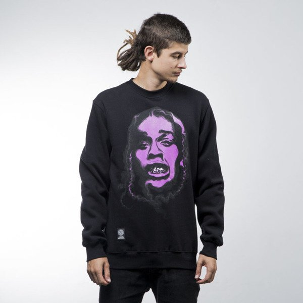 Mass Denim sweatshirt Harlem Legend crewneck black