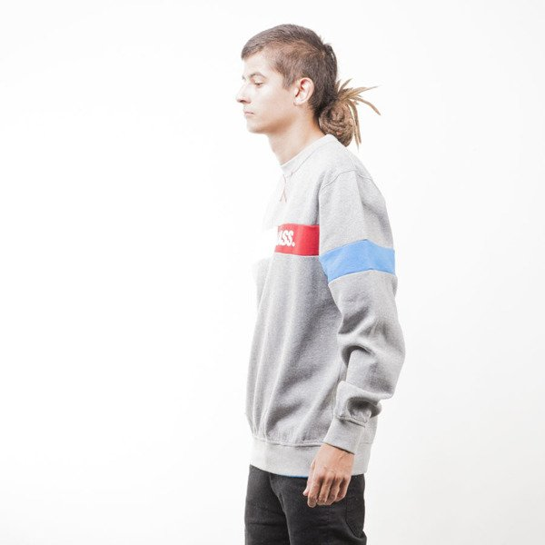 Mass Denim sweatshirt Hello crewneck light heather grey