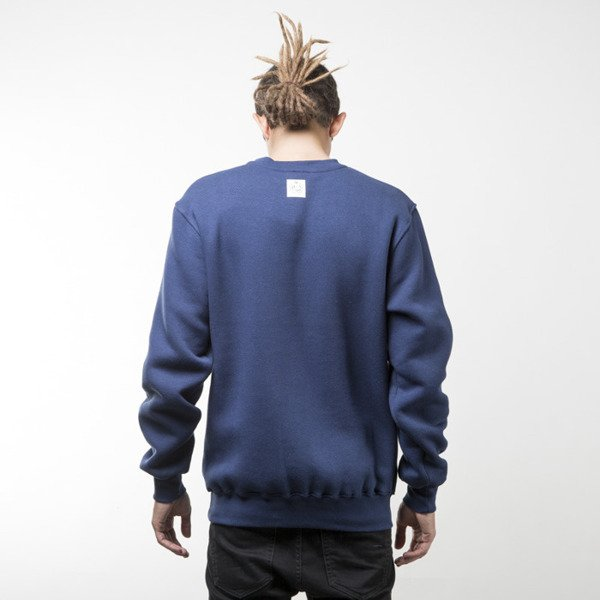 Mass Denim sweatshirt Mind crewneck navy