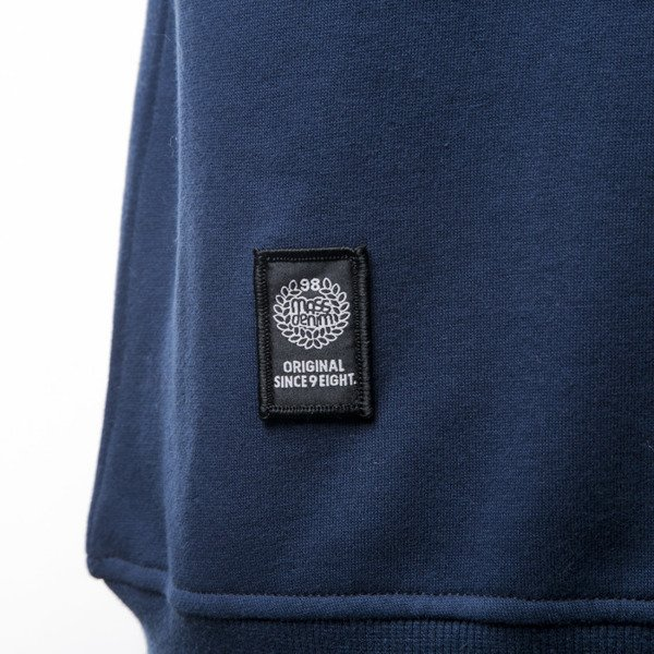 Mass Denim sweatshirt Pocket Signature crewneck navy