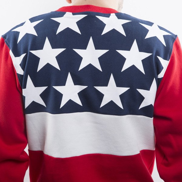 Mass Denim sweatshirt Washington crewneck red