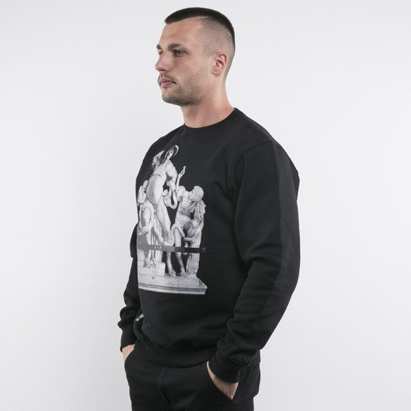 Mass Denim sweatshirt crewneck Statue black