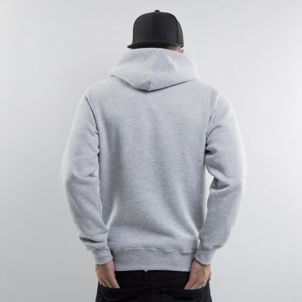 Mass Denim sweatshirts Capitol Hoody light heather grey