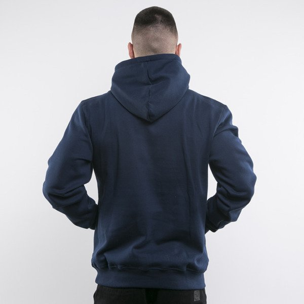 Mass Denim sweatshirts Compton Hoody navy