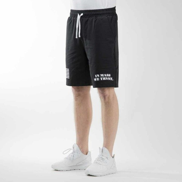 Mass Denim sweatshorts Empire black BLAKK