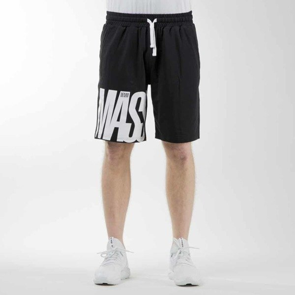 Mass Denim sweatshorts Outsized black