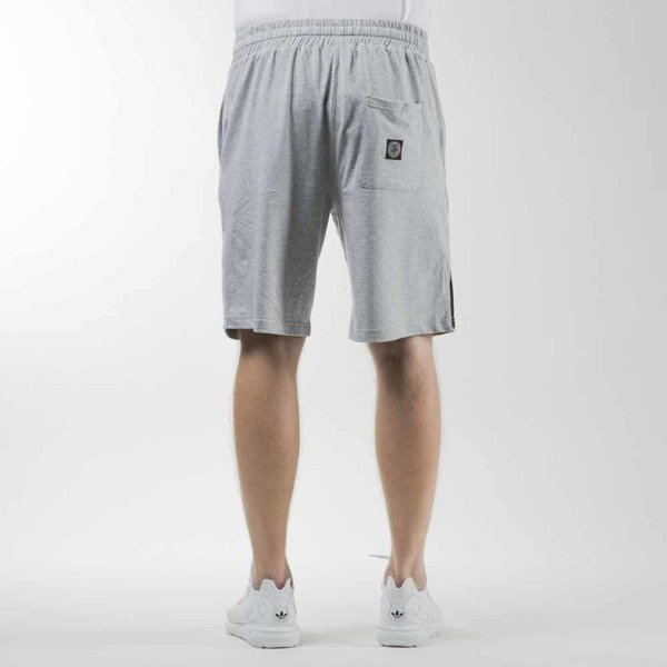 Mass Denim sweatshorts Outsized light heather grey