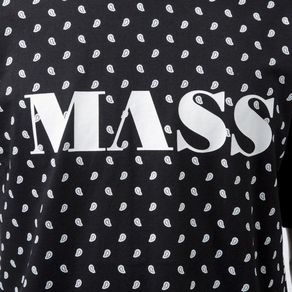 Mass Denim t-shirt  Bandana black BLAKK