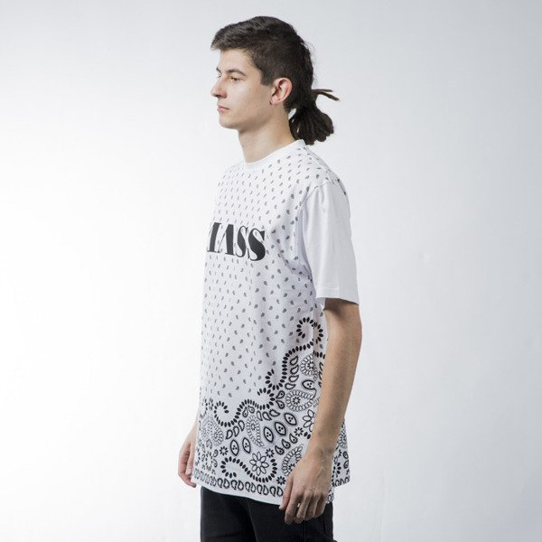 Mass Denim t-shirt  Bandana white BLAKK