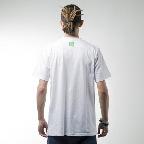 Mass Denim t-shirt Fine Malt white