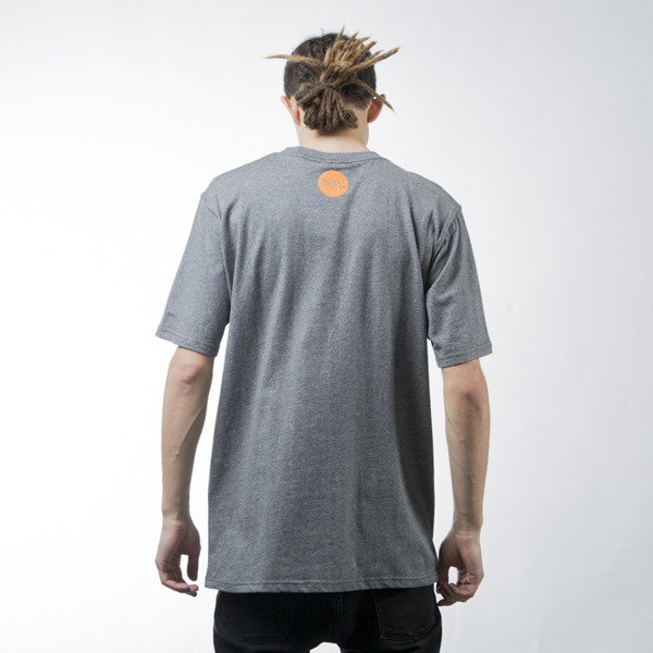 Mass Denim t-shirt Signature dark heather grey