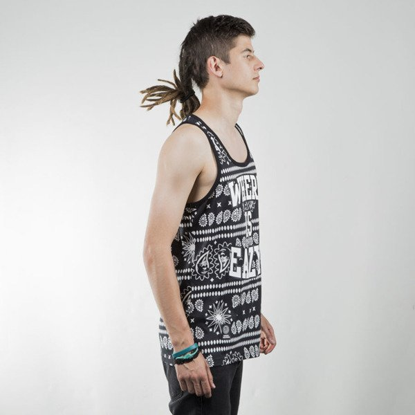 Mass Denim tank top Where is Eazy black