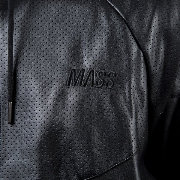 Mass Denim windbreaker jacket Palladium black