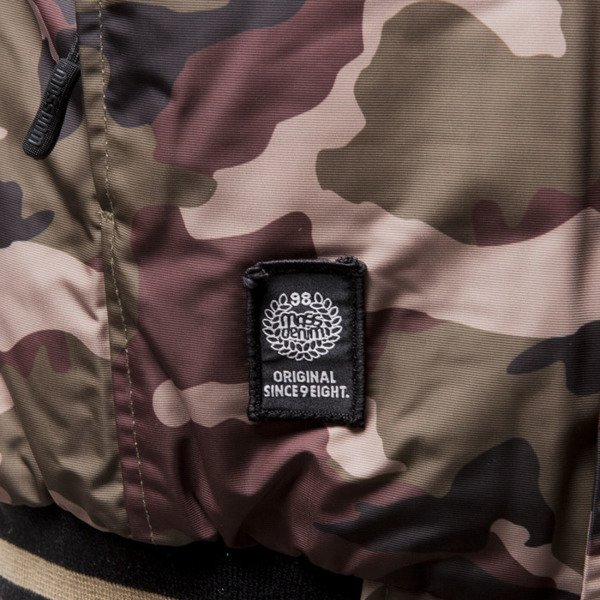 Mass Denim winter jacket District woodland camo