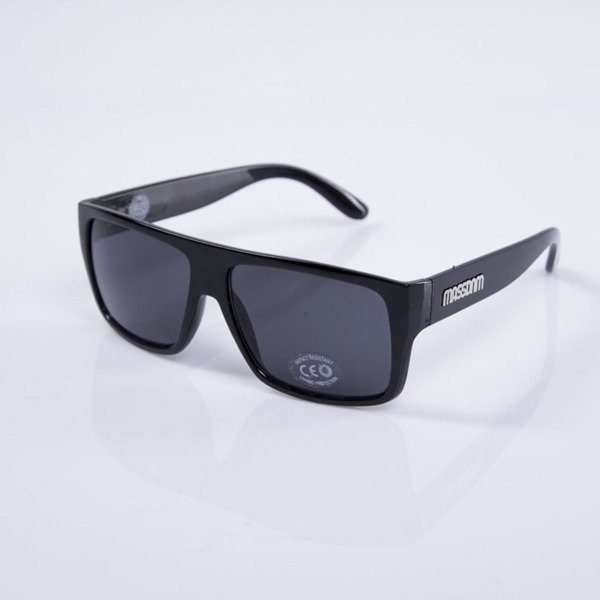 Massdnm Sunglasses Icon black shine