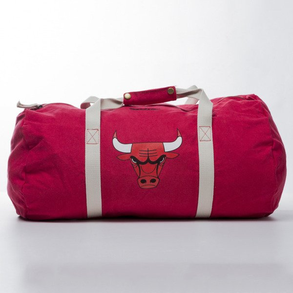 Mitchell & Ness Chicago Bulls Duffle Bag red TEAM LOGO