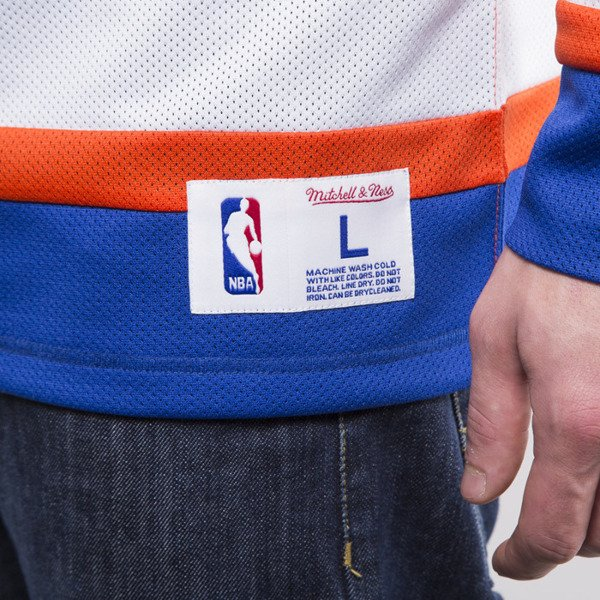 Mitchell & Ness Mesh Longsleeve New York Knicks royal / orange