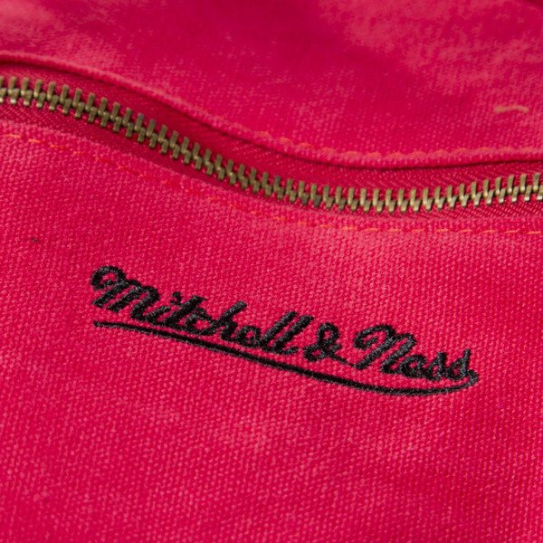Mitchell & Ness NBA Logo Duffle Bag red TEAM 31