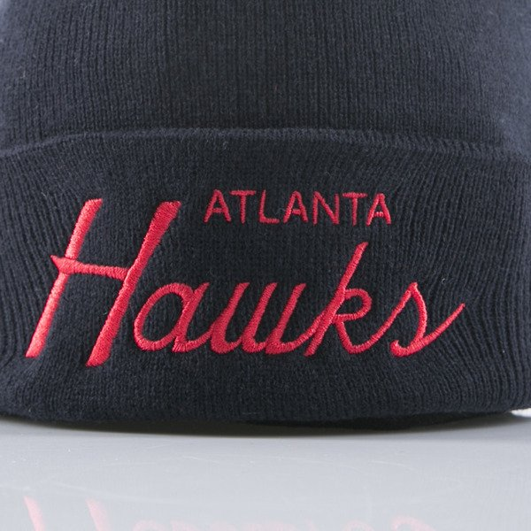 Mitchell & Ness beanie Atlanta Hawks navy Team Talk EU175